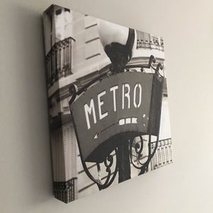 Wall Art - 'metro' canvas picture